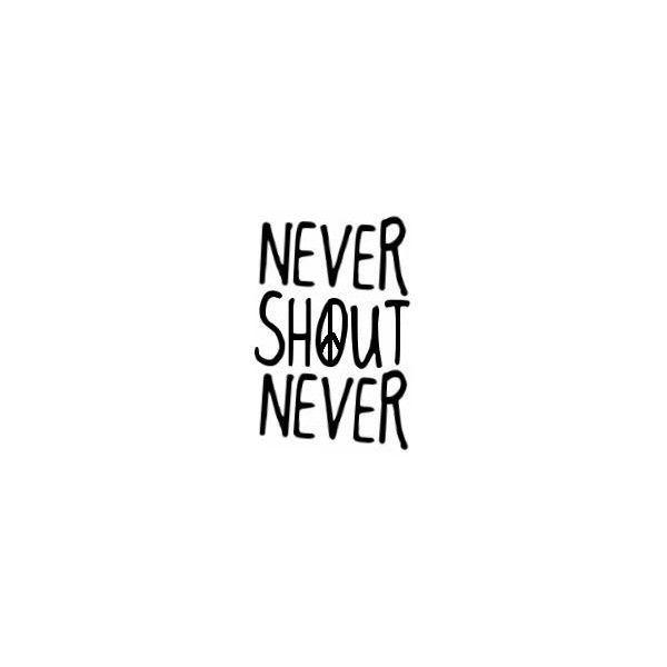 nevershoutnever logo anchor wwwimgkidcom the image