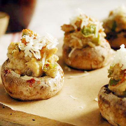 Stuffed Mushrooms by Cooking Light. This low-fat version of a stuffed ...