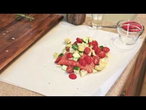 Baked Fish in Parchment | Recipe