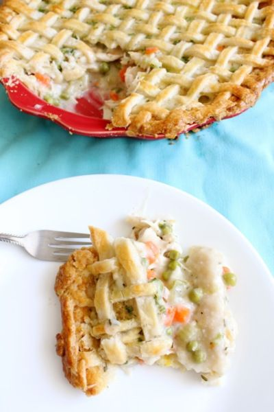 Matzoh ball pot pie. Will make it vegetarian and with just a bottom ...