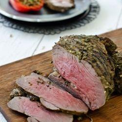 Simple Herb Roasted Leg of Lamb | Yummy! | Pinterest