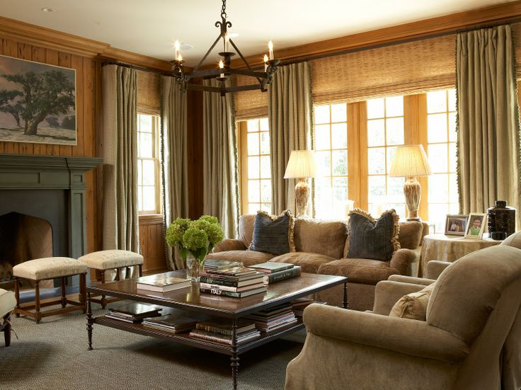 fireplace, window treatments, furniture