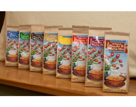 all 8 of our all-natural & preservative free Pancake and Waffle Mixes ...