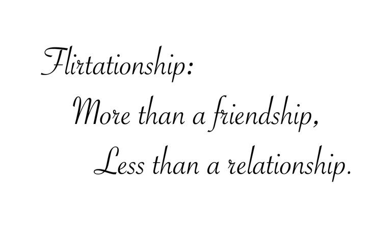 Heard of flirtationship? - Times of India