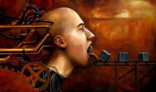 .MACHINE IDEAS......BY ANTONIO JAVIER CAPARO.......ON ARTODYSSEY.......PARTAGE OF RENE PASSERA......ON FACEBOOK........