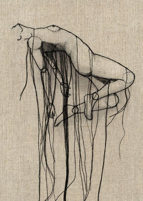 Thread sketches by Andrea Farina.