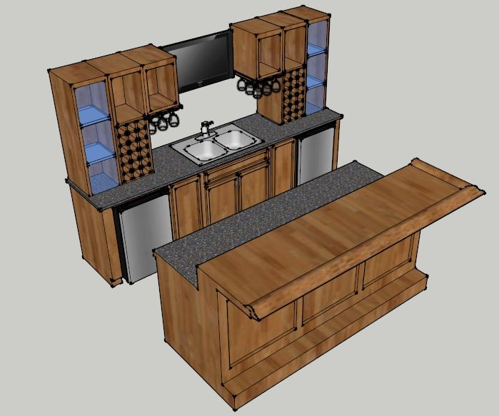 Bar design with dimensions ideas for cabin pinterest for Basement bar dimensions plans