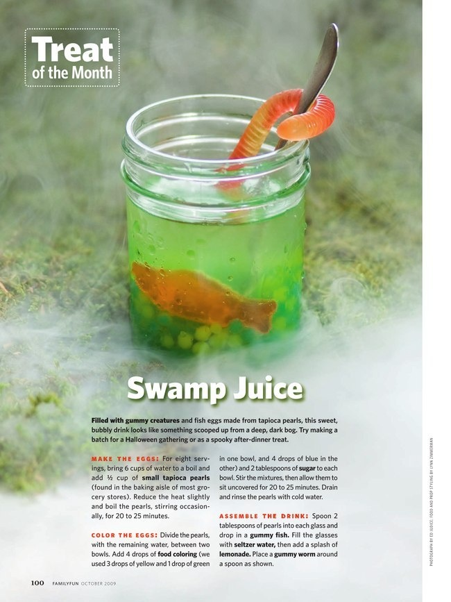 Yoda Dagobah swamp juice | Halloween | Pinterest