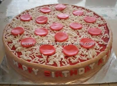 Pizza Cake Decorating Tips and Ideas