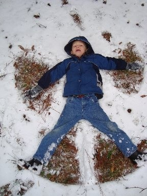 Georgia snow angel ;-)