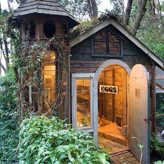 Fancy Backyard Chicken Coops : One very fancy chicken coop  Chicken Coop  Pinterest