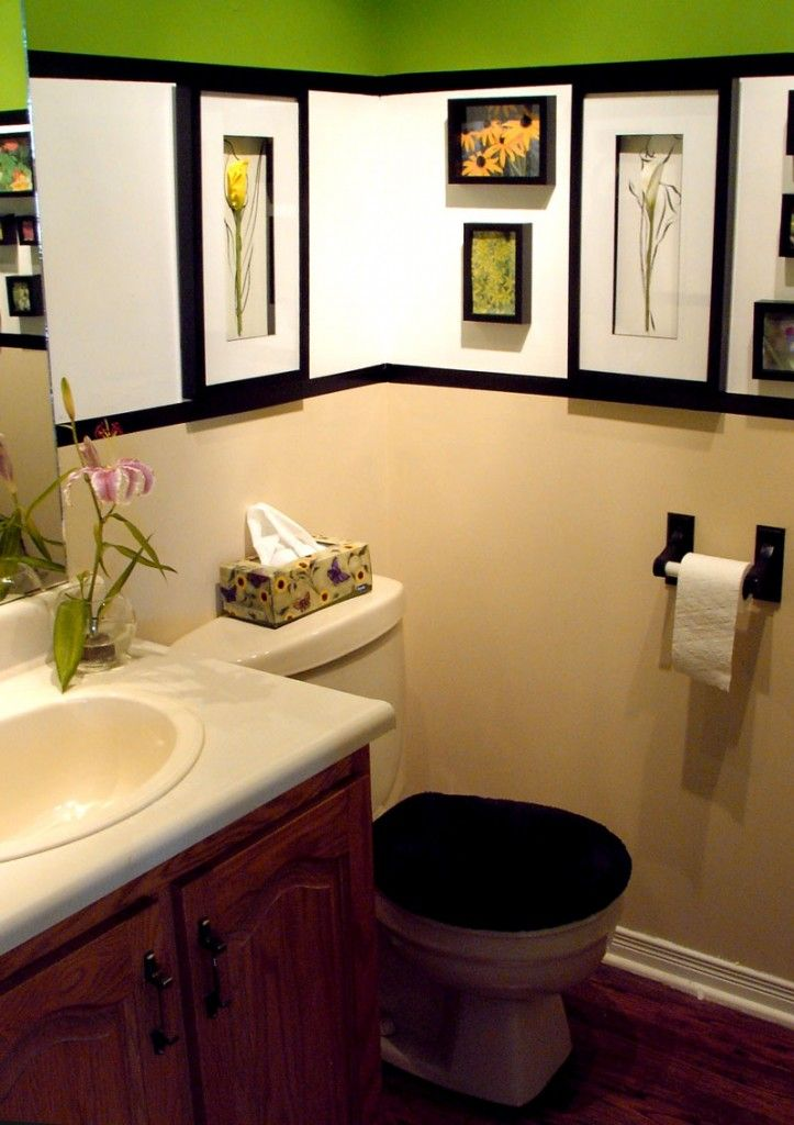 small bathroom design ideas breaking up the color with light on