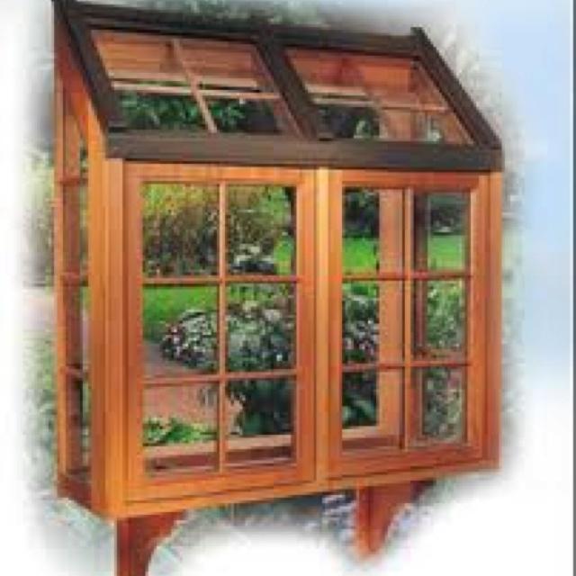 Kitchen Garden Greenhouse Window: Greenhouse Garden Window