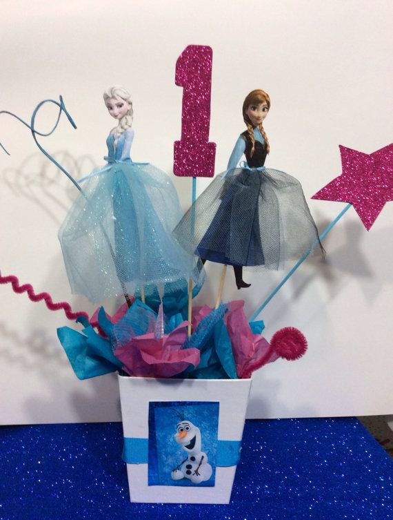 Disney Frozen Centerpiece Ideas