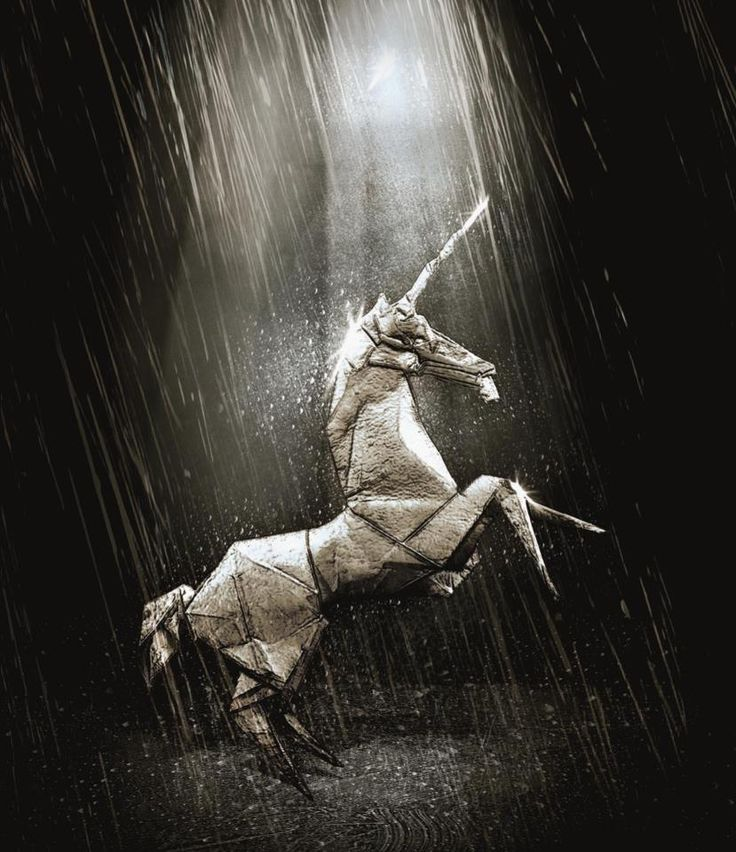 blade runner origami unicorn style upon style pinterest