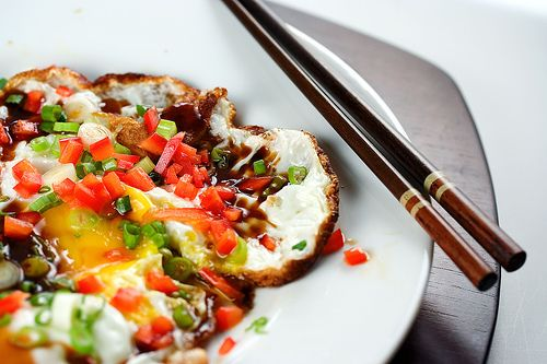Fried Egg with Oyster Sauce (use PandaBrand #glutenfree oyster sauce ...