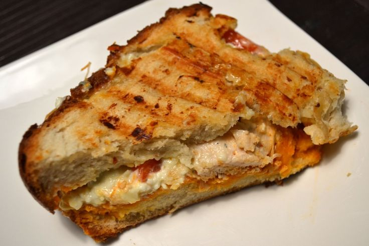 buffalo chicken panini 380 calories per panini