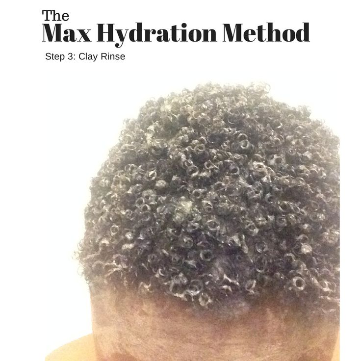 Max Hydration Method. Step 3: Clay Rinse #maxhydrationmethod testimony pic. #4bhair #4ahair #4chair #bentoniteclay