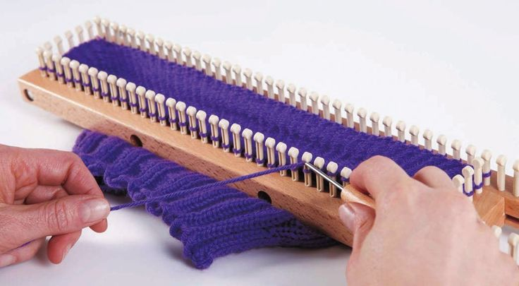 Loom Board Knitting Patterns : Loom Knitting Board {Knitting board} Pinterest