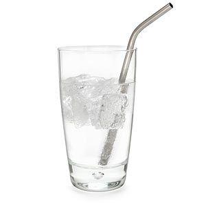 Titanium straw: perfect for my dad! to go with his titanium spork :P
