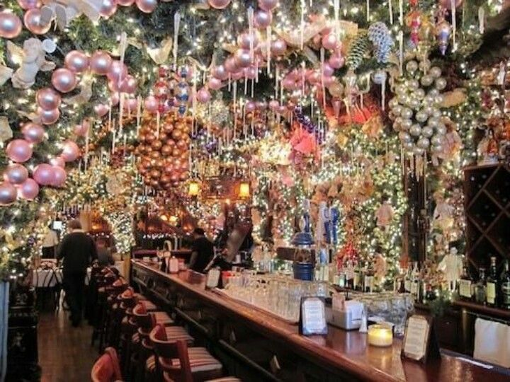Christmas In Nyc Rolf 39 S New York City Pinterest