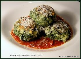 Spinach & Parmesan Dumplings | Vegetable Dishes, Sides & Grains | Pin...