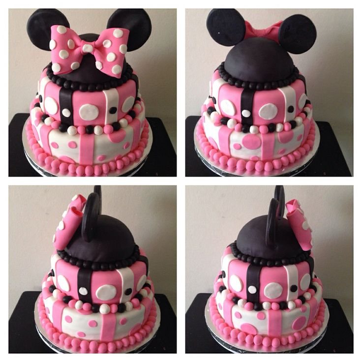 minnie mouse baby shower cake minnie themed party pinterest