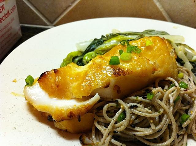 Miso glazed sea bass   Favorite Recipes   Pinterest
