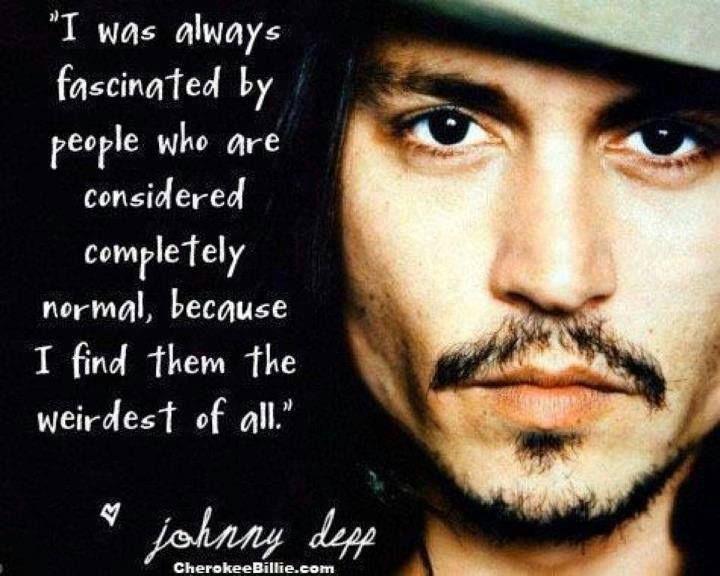 Johnny Depp Love Quotes : johnny depp