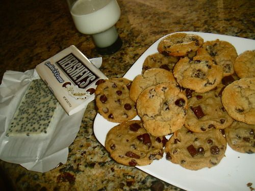 Hershey's chocolate chip cookies | Foodgasm Board | Pinterest