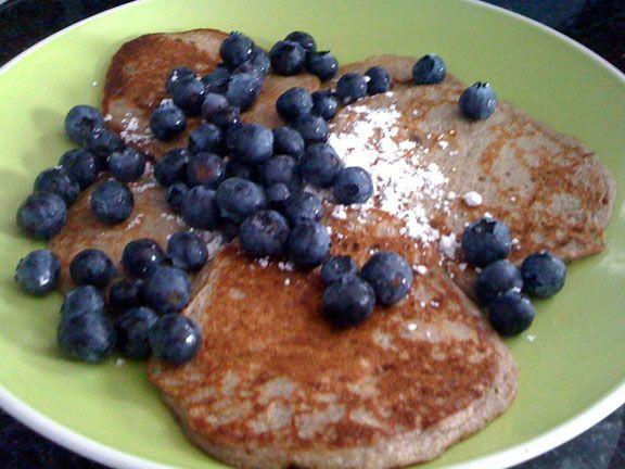 Gluten-free buckwheat buttermilk blueberry pancakes recipe - Chicago ...