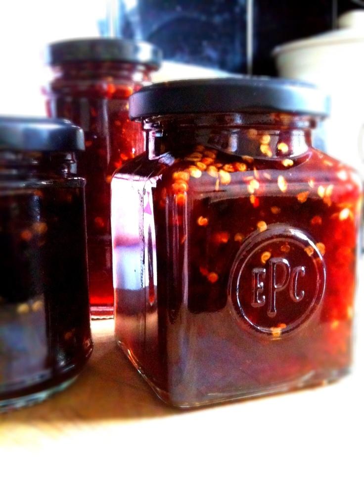 Spicy Strawberry and Chilli Chutney | m a s t e r c h e f | Pinterest