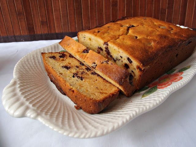 Chocolate-Orange Cream Cheese Pound Cake by Milk and Honey
