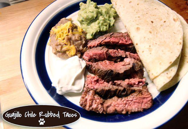 Guajillo chile rubbed steak for tacos | Latin American Dishes | Pinte ...