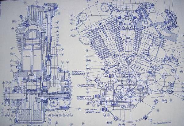 v8 engine blueprints - photo #26
