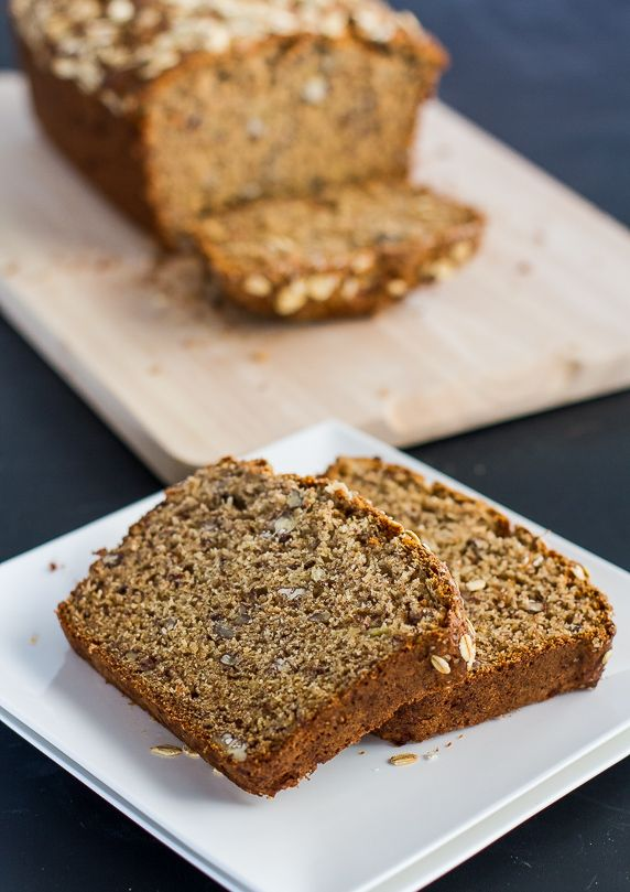 Healthy Whole Wheat Banana Nut Bread - at only 209 calories per slice ...