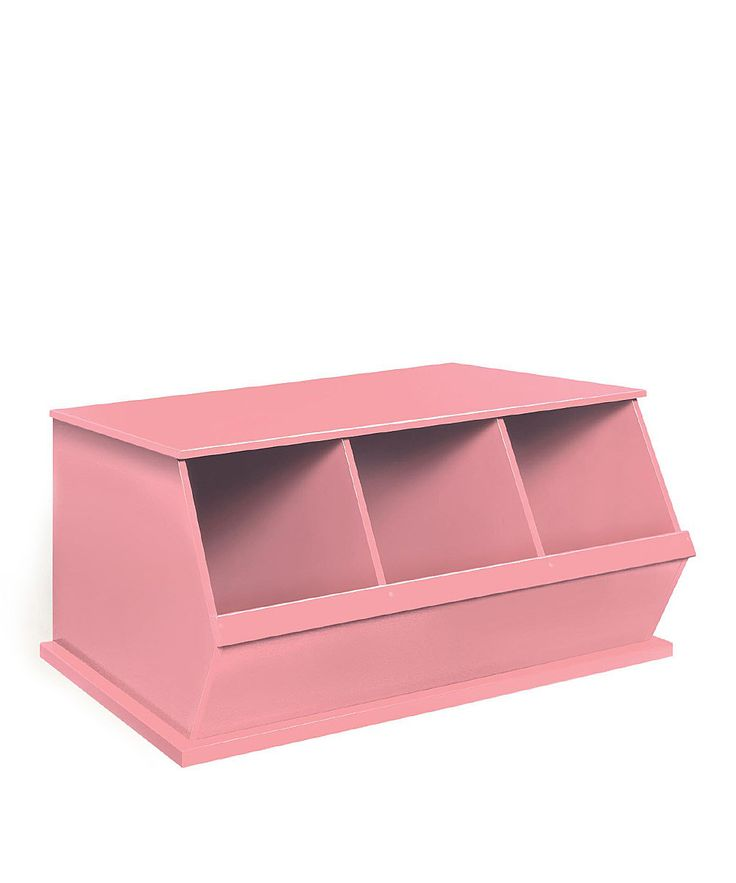 Take a look at this Pink Three-Bin Storage Cubby on zulily today!