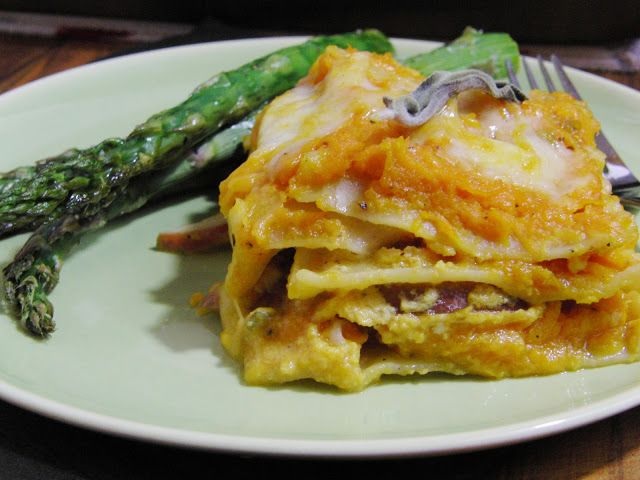 Roasted Butternut Squash lasagna | Healthy Recipes | Pinterest
