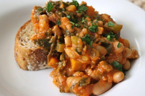 Rainbow Chard & White Bean Stew | Fresh and Healthy Food & Drinks | P...