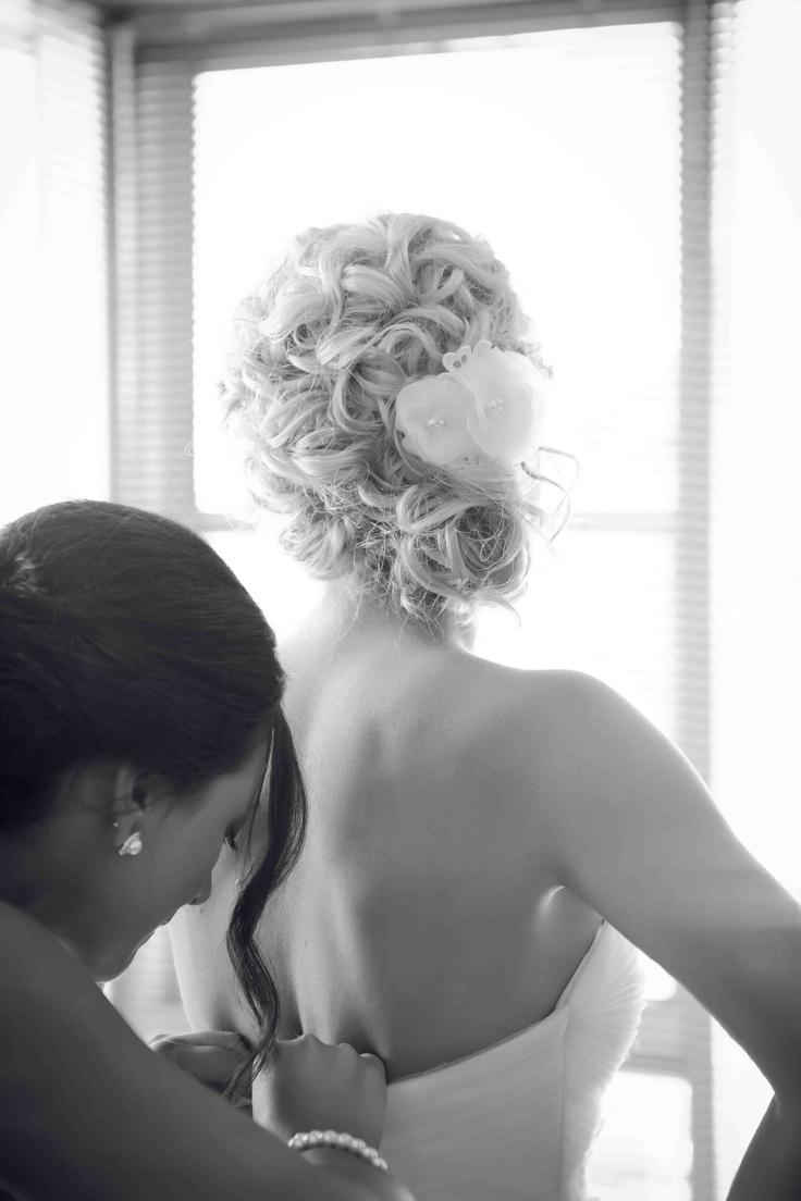 My wedding hair - curls off to the side | Wedding Hairstyles | Pinter ...