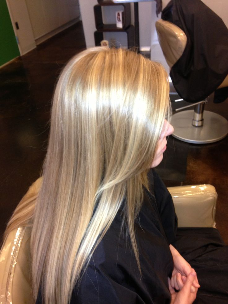 Light Ash Blonde Hair With Lowlights Natural ash blonde with