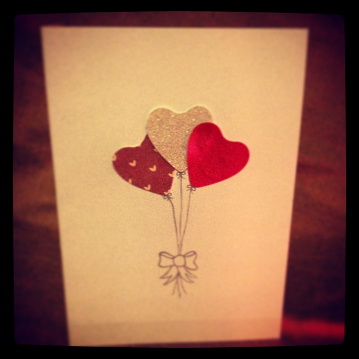 valentine card diy