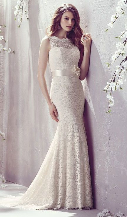 A Fishtail Wedding Dress : Short fishtail wedding dress bridal studio