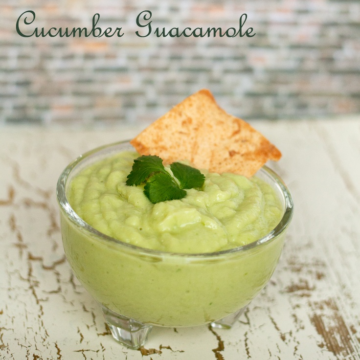 ... Guacamole - a light and refreshing twist on the classic guacamole