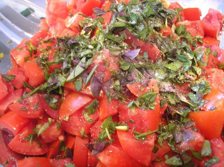 pasta with fresh tomato sauce | pasta for dinner | Pinterest