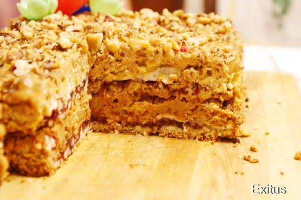 Торт гуцулка рецепт