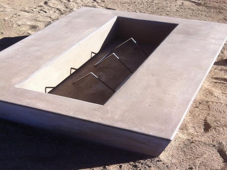 Pin by edwina dickert on garden and landscaping ideas for Fire pit on concrete slab