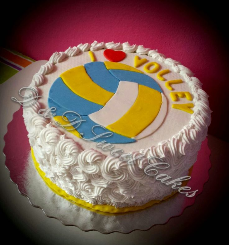 Volleyball Cake Cake Ideas And Designs