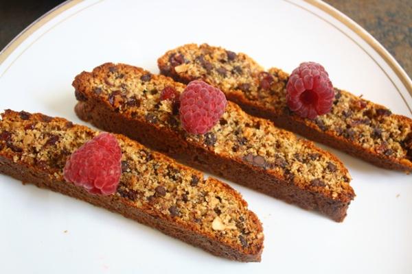 Cranberry Chocolate Chip Biscotti | Paleo treats | Pinterest