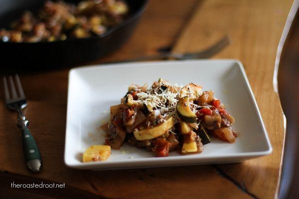 Ratatouille Saute - eggplant, tomatoes, zucchini squash sauteed and ...